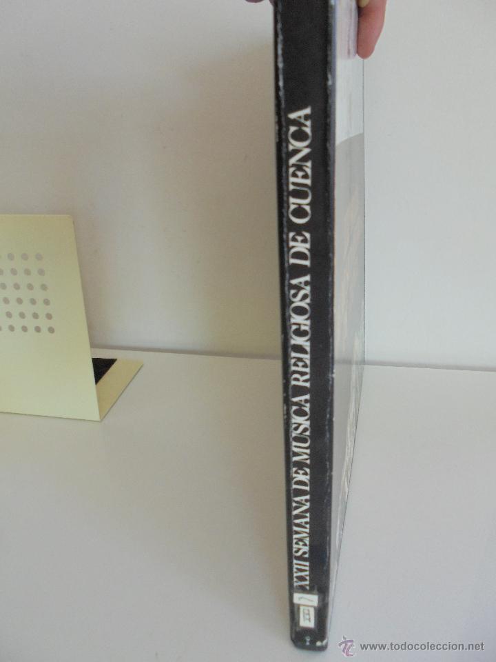 Discos de vinilo: SEMANA DE MUSICA RELIGIOSA DE CUENCA XXI, XXII Y XXIII. NUEVE DISCOS DOS ESTUCHES. VER FOTOGRAFIAS - Foto 18 - 51223857