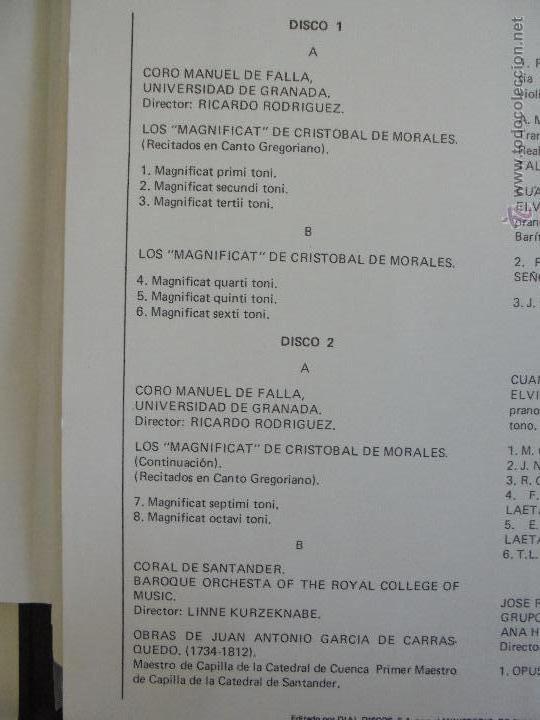 Discos de vinilo: SEMANA DE MUSICA RELIGIOSA DE CUENCA XXI, XXII Y XXIII. NUEVE DISCOS DOS ESTUCHES. VER FOTOGRAFIAS - Foto 22 - 51223857