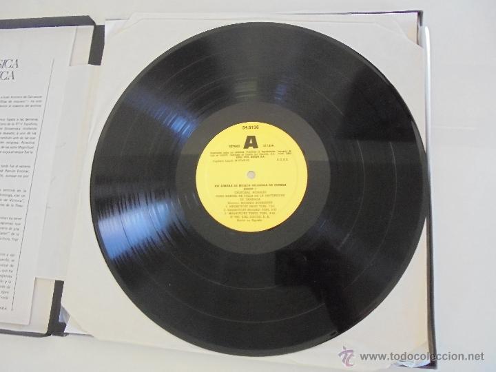 Discos de vinilo: SEMANA DE MUSICA RELIGIOSA DE CUENCA XXI, XXII Y XXIII. NUEVE DISCOS DOS ESTUCHES. VER FOTOGRAFIAS - Foto 25 - 51223857