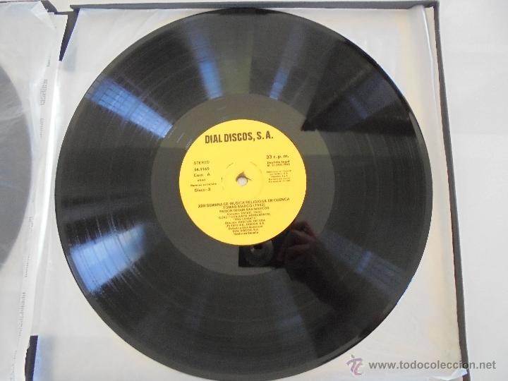 Discos de vinilo: SEMANA DE MUSICA RELIGIOSA DE CUENCA XXI, XXII Y XXIII. NUEVE DISCOS DOS ESTUCHES. VER FOTOGRAFIAS - Foto 48 - 51223857