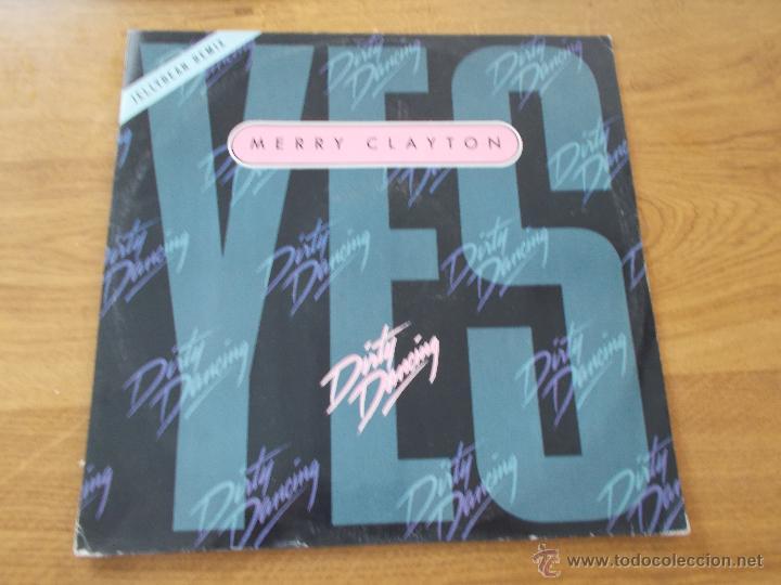 MERRY CLAYTON. YES. DIRTY NDANCING. MAXI 12 (Música - Discos de Vinilo - Maxi Singles - Bandas Sonoras y Actores)
