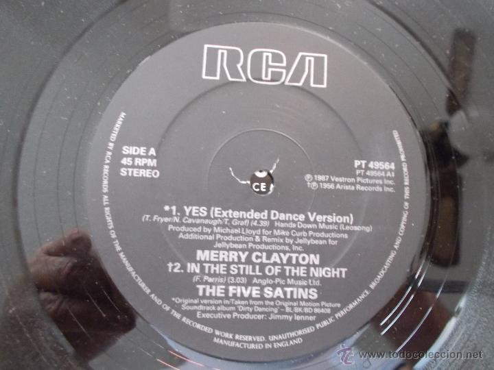 Discos de vinilo: MERRY CLAYTON. YES. DIRTY NDANCING. MAXI 12 - Foto 2 - 51229617