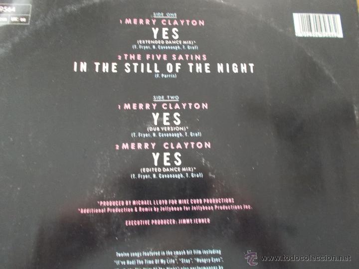 Discos de vinilo: MERRY CLAYTON. YES. DIRTY NDANCING. MAXI 12 - Foto 3 - 51229617