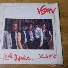 Disques de vinyle: VISION. LOVE DANCE.MAXI 12 . Lote 51232219