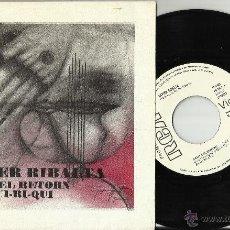Discos de vinilo: XAVIER RIBALTA SINGLE PROMOCIONAL CANT DEL RETORN.1977.EN PERFECTO ESTADO. Lote 51232893
