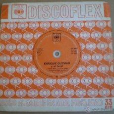 Discos de vinilo: ENRIQUE GUZMAN Y EL TWIST - FLORIDA TWIST / EL RITMO DEL TWIST - FLEXI SINGLE CBS 1963 // DISCOFLEX. Lote 51233781