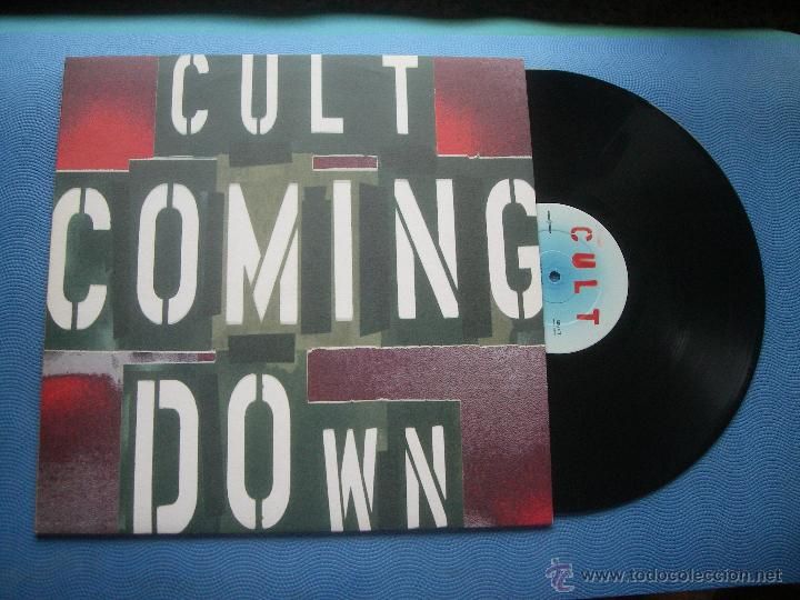 THE CULT COMING DOWN MAXI UK 1994 PDELUXE (Música - Discos de Vinilo - Maxi Singles - Jazz, Jazz-Rock, Blues y R&B)