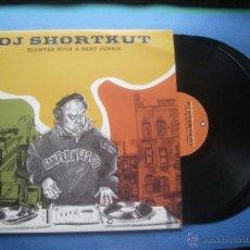 Discos de vinilo: DJ SHORKUT BLUNTED WITH A BEAT JUNKIE DOBLE LP UK 2004 PDELUXE. Lote 51238782