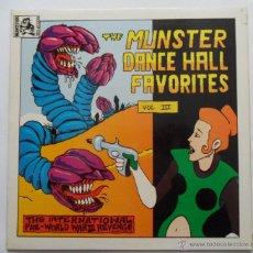 Discos de vinilo: THE MUNSTER DANCE HALL FAVORITES VOL. III (MUNSTER 1990). Lote 51239098