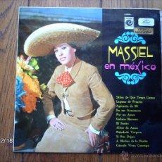 Discos de vinilo: MASSIEL EN MEXICO. Lote 51239342