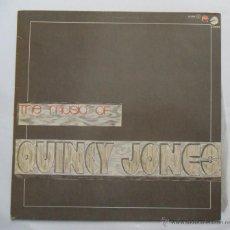 Discos de vinilo: QUINCY JONES - THE MUSIC OF QUINCY JONES (CHESS-CFE) 1983. Lote 51239381