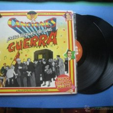 Discos de vinilo: BANDA SONORA ORIGINAL - BSO CANCIONES PARA DESPUES DE UNA GUERRA DOBLE LP 1976 PDELUXE. Lote 51239760