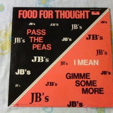 Discos de vinilo: LP THE JB'S - FOOD FOR THOUGHT / 1972 ORIG. SPAIN POLYDOR RECORDS / FUNK SOUL BREAKS / JAMES BROWN!!. Lote 51242914