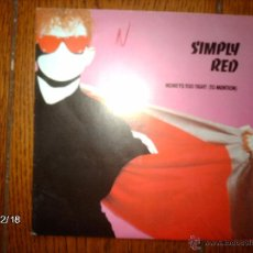 Discos de vinilo: SIMPLY RED - MONEY´S TOO TIGHT( TO MENTION ) + OPEN UP THE RED BOX . Lote 51244687