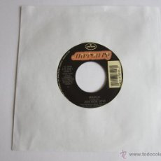 JON BON JOVI - MIRACLE 1990 USA SINGLE * NUEVO * FUNDA DE PLASTICO TRANSPARENTE