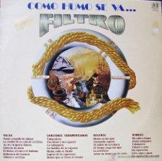 Discos de vinilo: COMO HUMO SE VA-FILTRO LP VINILO 1983 SPAIN. Lote 51246054