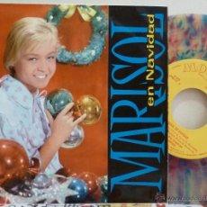 Discos de vinilo: MARISOL EN NAVIDAD (EP MONTILLA 1960) DISCO MULTICOLOR. Lote 51246274