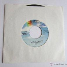 Discos de vinilo: BELINDA CARLISLE - SUMMER RAIN 1990 USA SINGLE * FUNDA DE PLASTICO TRANSPARENTE. Lote 51249366