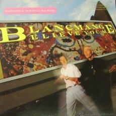 Discos de vinilo: BLANCMANGE-BELIEVE YOU ME LP VINILO 1985 (USA). Lote 51249698