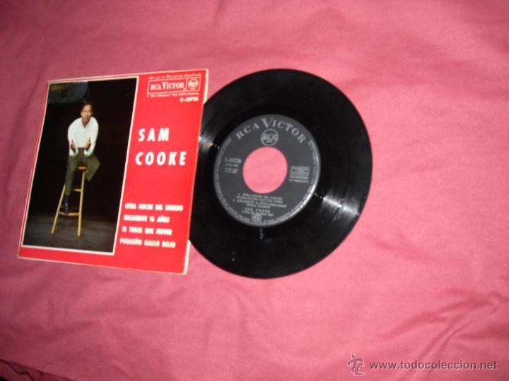 SAM COOKE EP OTRA NOCHE DEL SABADO 1964 RCA SPA VER FOTOS (Música - Discos de Vinilo - EPs - Funk, Soul y Black Music)