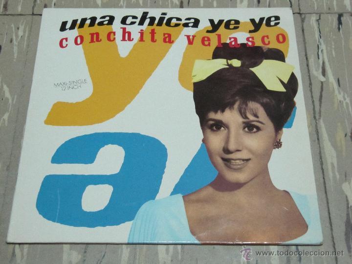 Concha Velasco Una Chica Yeye Mama Quiero Ser Artista Maxi Single Conchita Velasco