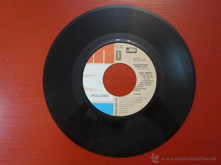 Discos de vinilo: JACK JERSEY - BLUE BROWN-EYED LADY - YOU'RE THE ONLY REASON - EMI - SINGLE - AÑO 1976 - [VG+/VG+] - Foto 2 - 51301805