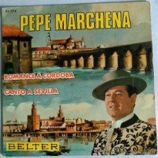 Discos de vinilo: PEPE MARCHENA. Lote 51316431