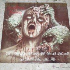 Discos de vinilo: LP DISASTROUS MURMUR - RHAPSODIES IN RED. Lote 51316573