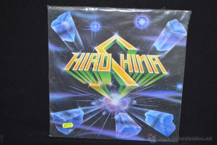 HIROSHIMA - S/T - LP METAL ESPAÑOL (Música - Discos - LP Vinilo - Heavy - Metal)