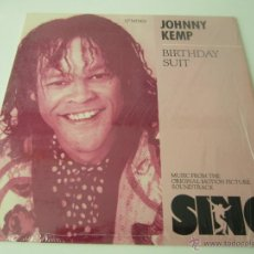 Discos de vinilo: JOHNNY KEMP - BIRTHDAY SUIT (7 VERSIONES) 1989 USA MAXI SINGLE. Lote 140678453