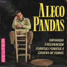 Discos de vinilo: ALECO PANDAS, EP, GRANADA + 3, AÑO 1962. Lote 51325385