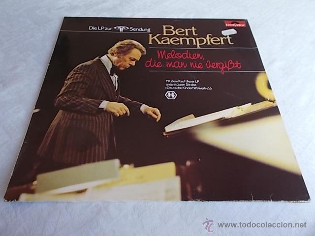 BERT KAEMPFERT MELODIEN, DIE MAN NIE VERGISST (Música - Discos - LP Vinilo - Orquestas)