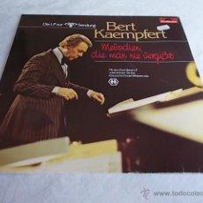 Discos de vinilo: BERT KAEMPFERT MELODIEN, DIE MAN NIE VERGISST. Lote 51326348