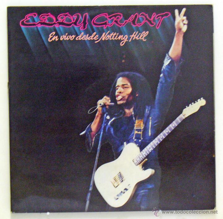 EDDY GRANT - 'EN VIVO DESDE NOTTING HILL' (DOBLE LP VINILO. CARPETA ABIERTA) (Música - Discos - LP Vinilo - Reggae - Ska)
