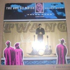 Discos de vinilo: THE ART OF NOISE FEAT. DUANNE EDDY (MAXI) PETER GUNN +2 TRACKS AÑO 1986 - EDICION U.K.. Lote 51327821