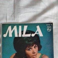 Discos de vinilo: MILA (CON LOS SONOR) - PAPEL BORRADOR/QUE LINDO ES/HULLY GULLY/CUADRÁNGULO DE AMOR (PHILIPS 1964) . Lote 51328949