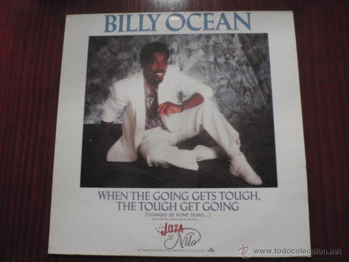 BILLY OCEAN - WHEN THE GOING GETS TOUGH. MAXI-SINGLE JIVE 1986 (Música - Discos de Vinilo - Maxi Singles - Bandas Sonoras y Actores)
