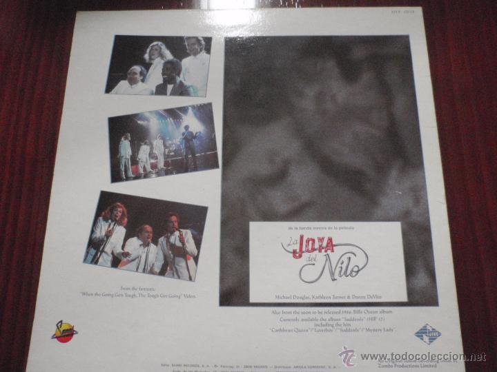 Discos de vinilo: BILLY OCEAN - WHEN THE GOING GETS TOUGH. Maxi-single Jive 1986 - Foto 2 - 51337307