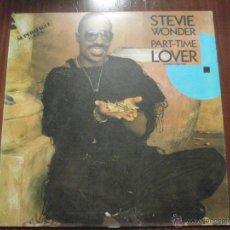 Discos de vinilo: STEVIE WONDER - PART TIME LOVER. MAXI-SINGLE MOTOWN 1985. Lote 51339821
