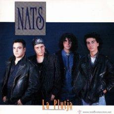 Discos de vinilo: NATS-LA PLUTJA SINGLE VINILO 1992 SPAIN. Lote 51341370