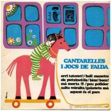 Discos de vinilo: CARMONA IZARD - CANTARELLES I JOCS DE FALDA - EP SPAIN 1968 - CONCENTRIC/DIDÓ 6079-UC - CATALÁ. Lote 51341897