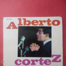 Discos de vinilo: ALBERTO CORTEZ. LA TIERRA, ESE BESO, DELIRIO, PRIMA DONNA.. Lote 51342855