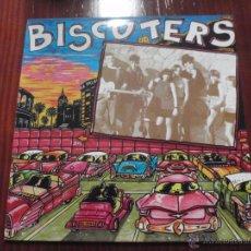 Discos de vinilo: BISCUTERS - BISCUTERS. LP LA ROSA RECORDS 1990. Lote 51344818