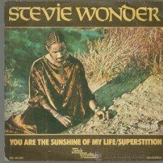 Discos de vinilo: STEVIE WONDER SINGLE SELLO TAMLA MOTOWN AÑO 1974 EDITADO EN ESPAÑA . Lote 51348329