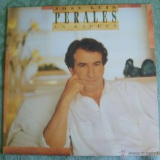 Discos de vinilo: JOSE LUIS PERALES - LA ESPERA. Lote 51355454