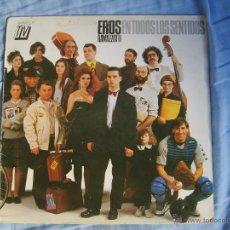 Discos de vinilo: EROS RAMAZZOTTI - EN TODOS LOS SENTIDOS. Lote 51355794