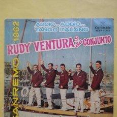Discos de vinilo: RUDY VENTURA Y SU CONJUNTO. SANREMO 1962. Lote 51355815