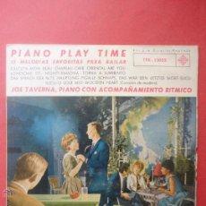 Discos de vinilo: PIANO PLAY TIME. 12 MELODÍAS FAVORITAS PARA BAILAR. Lote 51355896