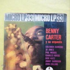 Discos de vinilo: BENNY CARTER Y SU ORQUESTA.. Lote 51355995