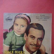 Discos de vinilo: ROSA MARY Y JOSÉ GUARDIOLA. Lote 51356278